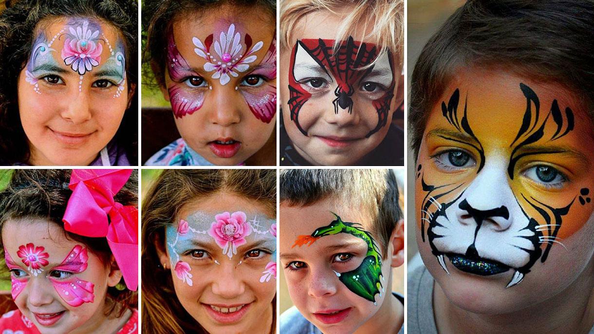 ציורי פנים וגוף לאירועים - 073-7581599