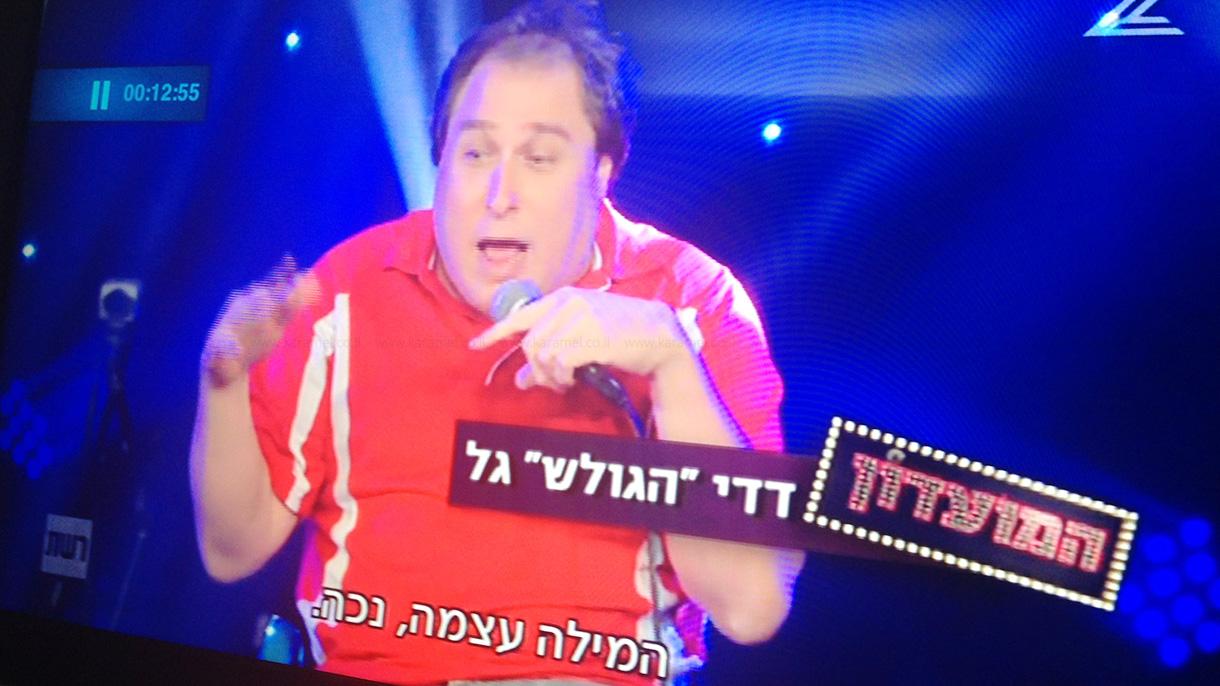 דדי הגולש במופע סטנדאפ - 073-7829396