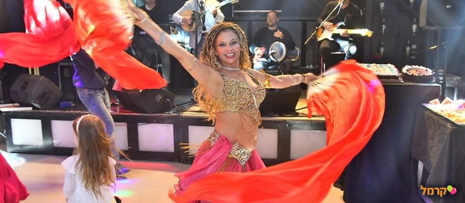 רונה בראון רקדנית בטן - 073-7026329