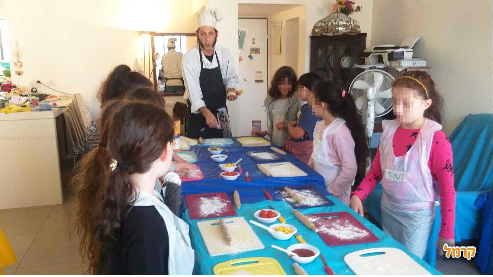 סדנאות בישול מהנות לילדים - 073-7590498