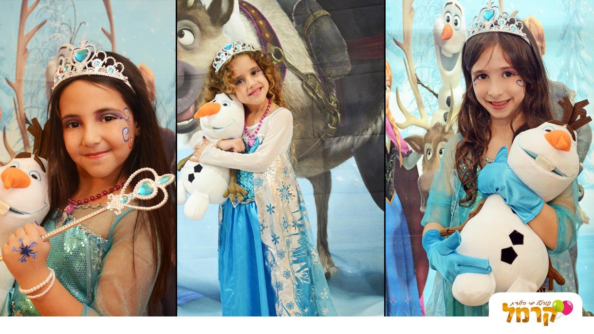 אלזה ואנה בממלכת הקרח - 073-7828028
